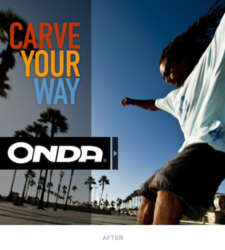 Onda boards new branding