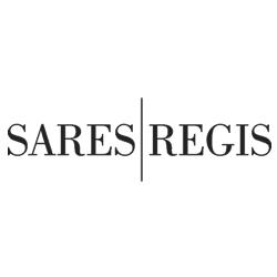 Sares Regis black & white logo
