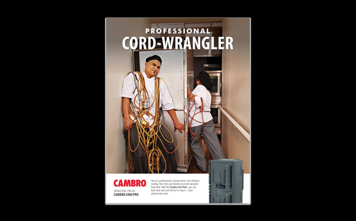 Cambro brand campaign in 2014