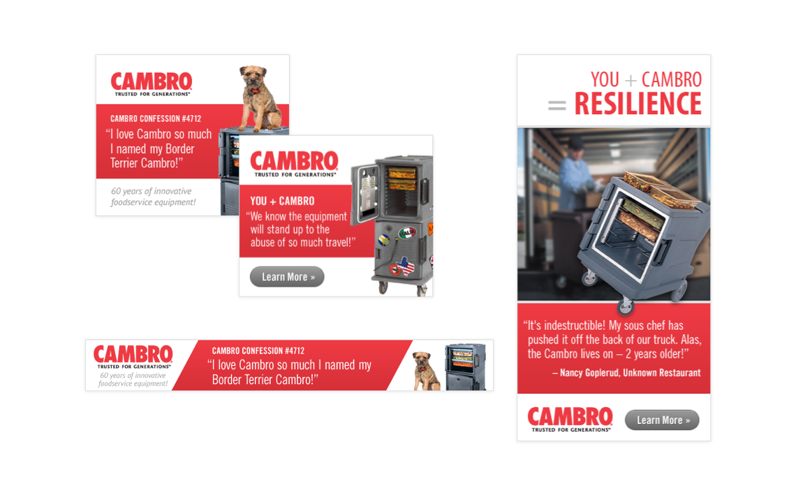 Cambro display banner ads