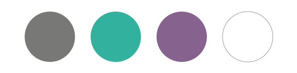 Drive Wellness brand color palette