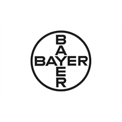Bayer Pharma black & white logo