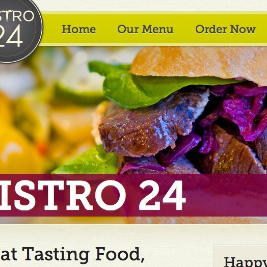 Bistro 24 closeup screenshot