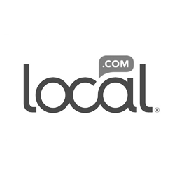 Local.com black & white logo
