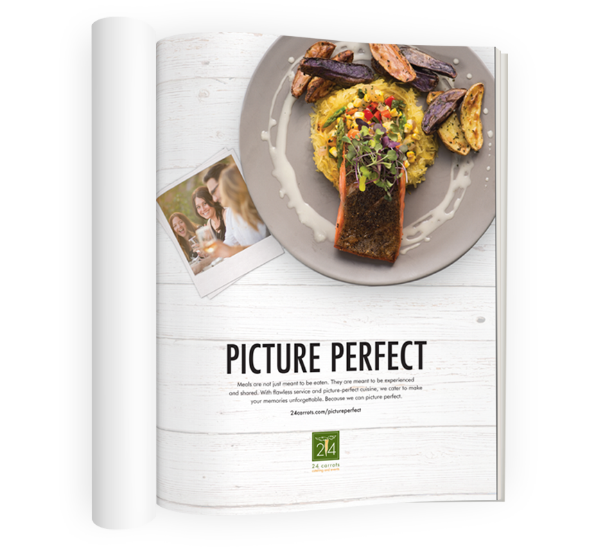24 Carrots - Picture Perfect Print Ad