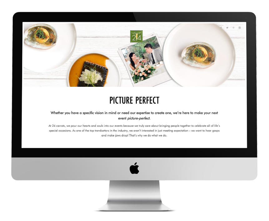 Picture Perfect Landing Page