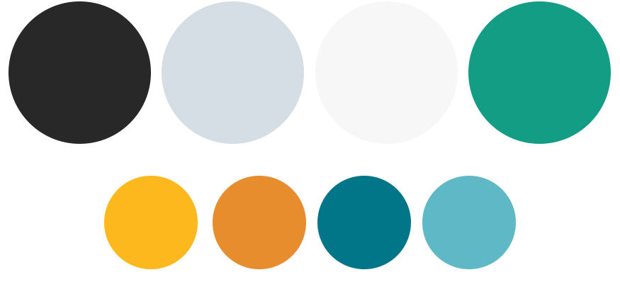220 below brand color palette