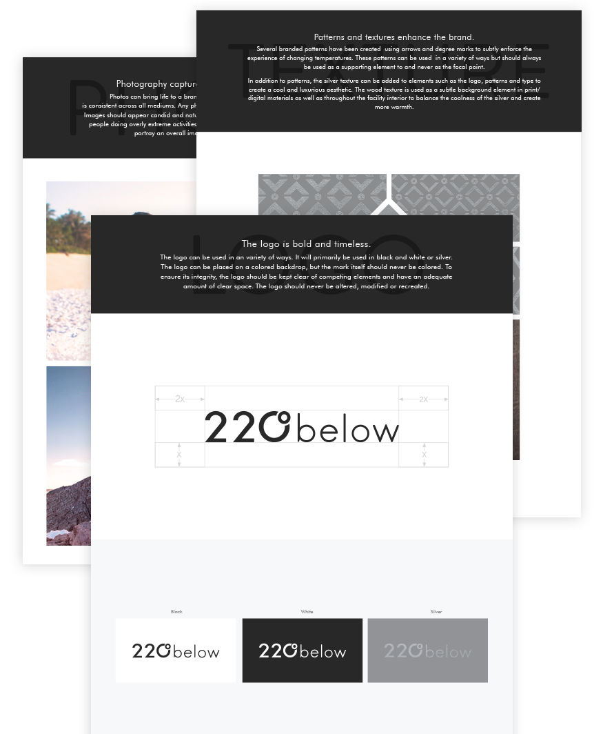 220 below brand guidelines