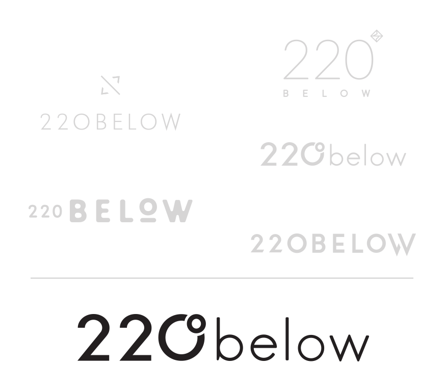 220 below logo