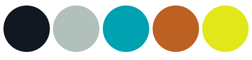 FRDM brand color palette