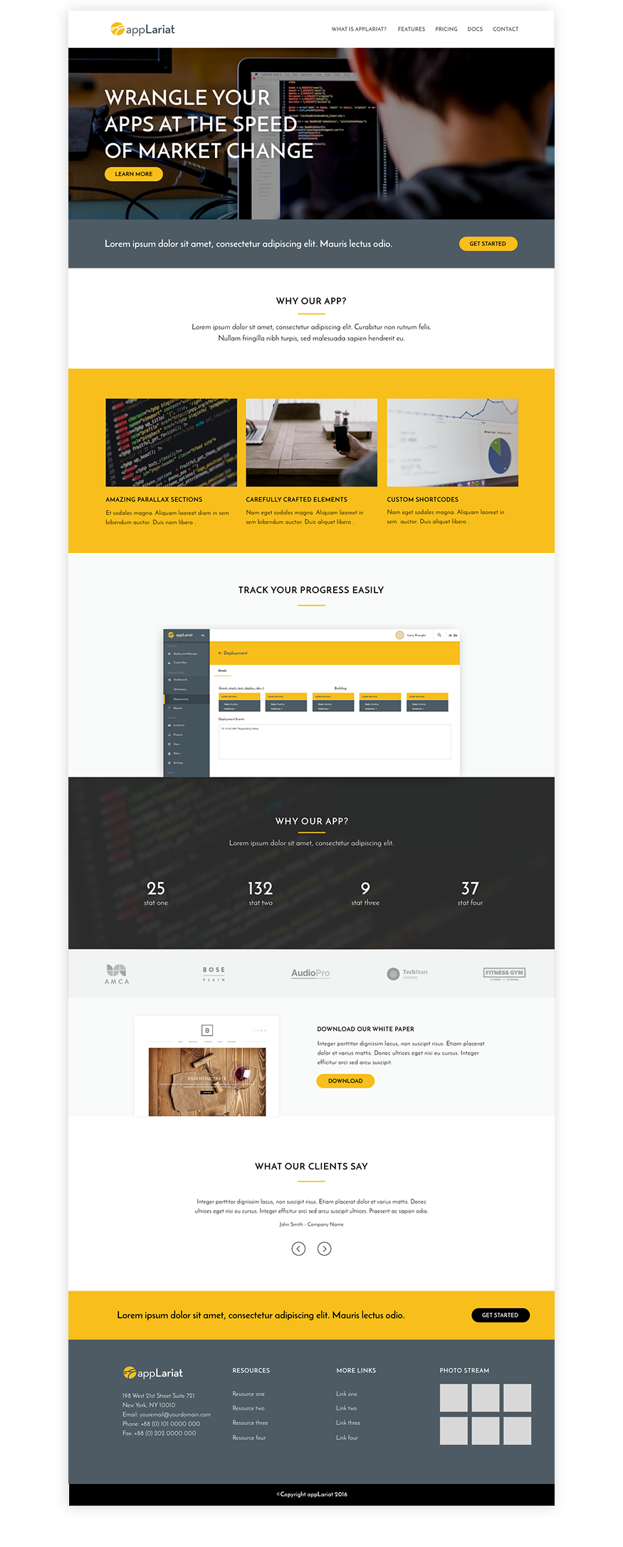 appLariat website design