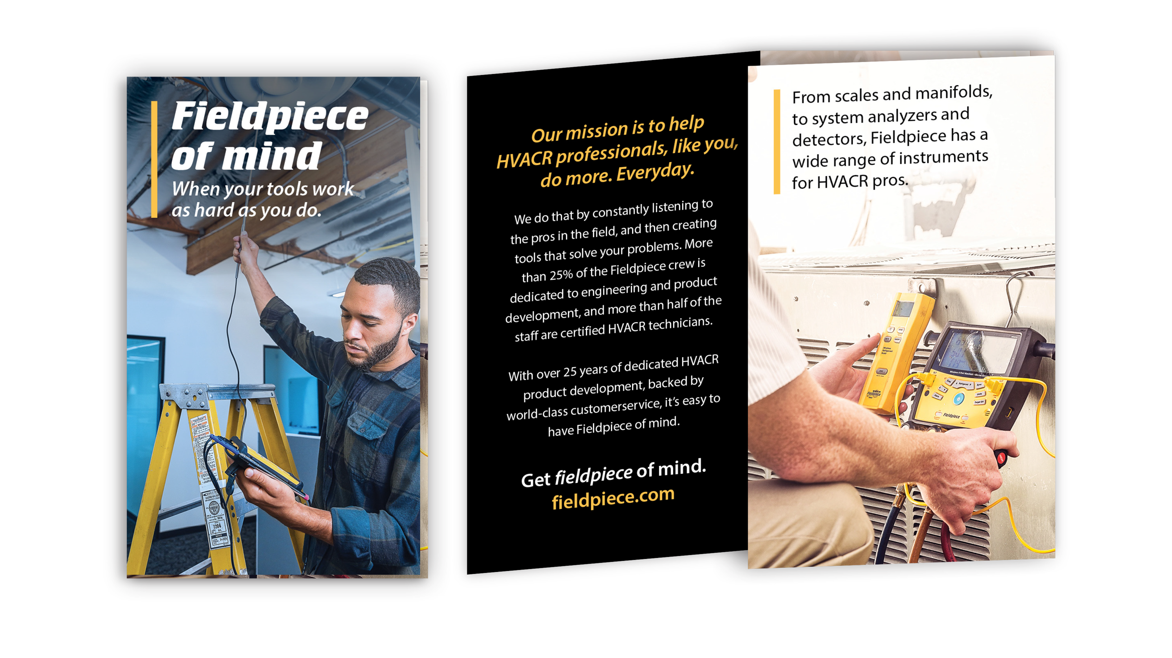 Fieldpiece branded brochure