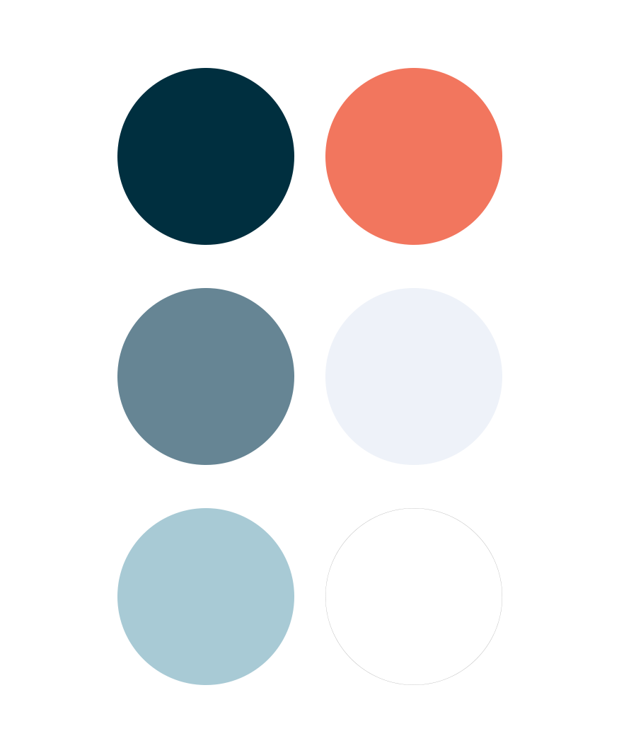 Huntington Bay Club brand colors