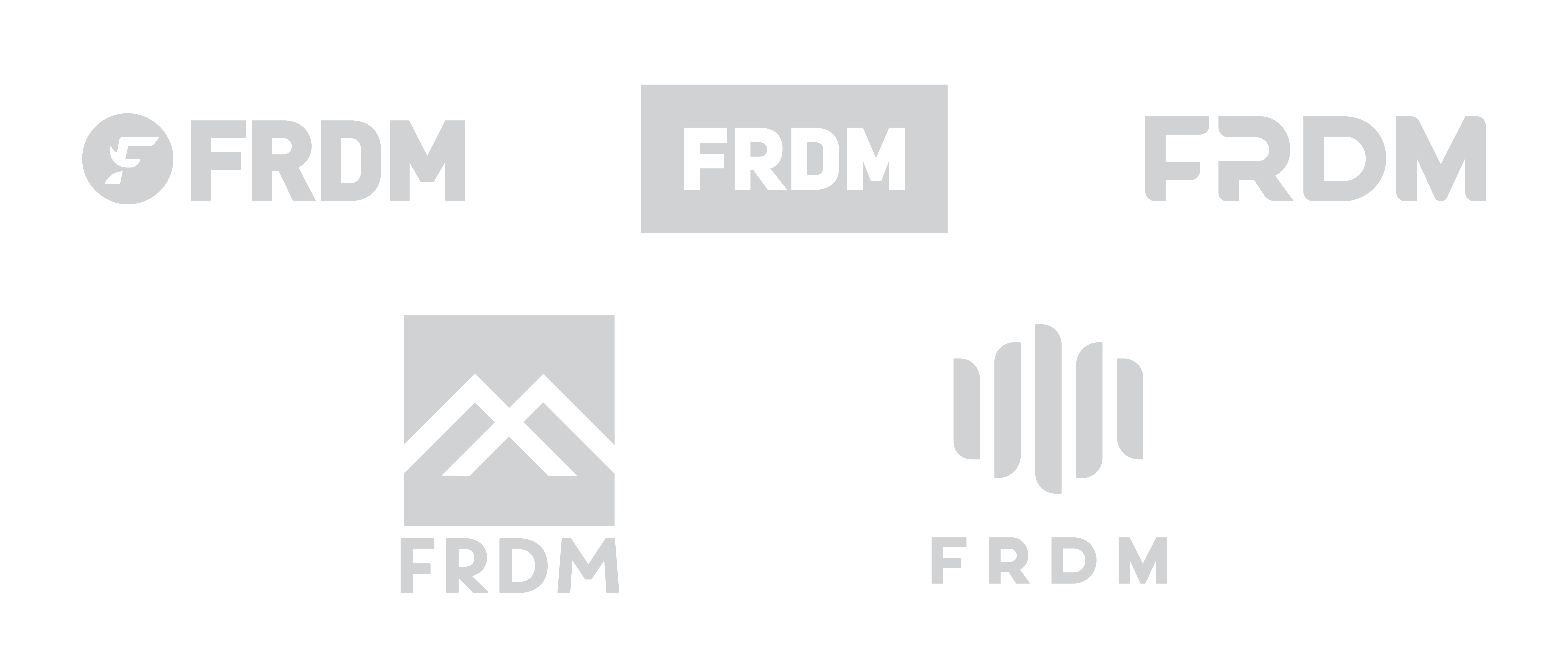 FRDM Gloves logo exploration
