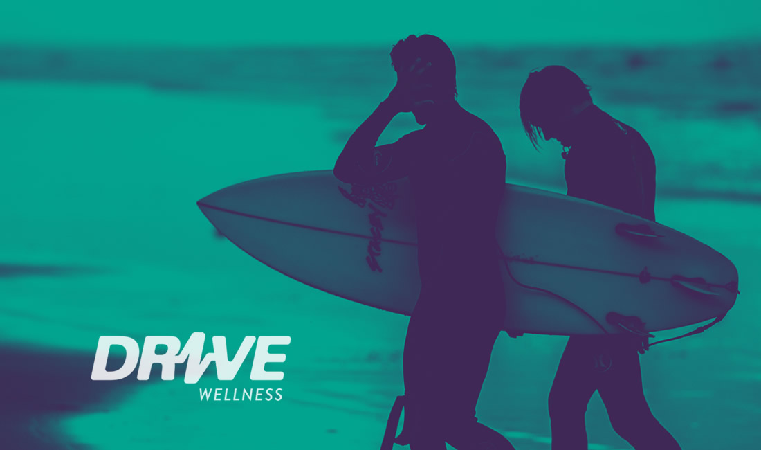 Drive Wellness case study header design