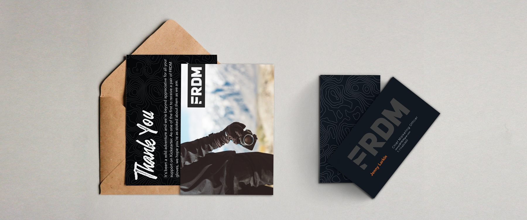 FRDM Gloves collateral design